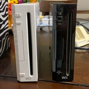 Black and white wii